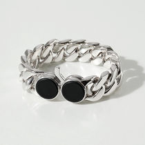 TOMWOOD BL42894 MBO Chunky Bracelet M Onyx ブレスレット