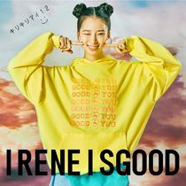 【ireneisgood】 19SS Good For You フード パーカー イエロー