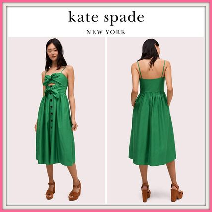 084c15ff kate spade new york ワンピース NEW!! 19SS!! ☆kate spade☆ tie ...