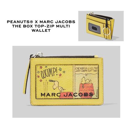 【Peanuts/MARC JACOBS】The Box Top-Zip Multi Wallet