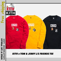 [日本未発売] KITH X TOM & JERRY L/S Friends Tee ロンTシャツ
