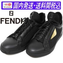♪送料関税込★FENDI★Monster Eye sneakers Men Black★大人気