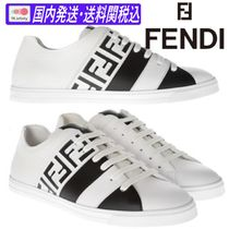 ♪送料関税込★FENDI★FF BAND SNEAKERS IN WHITE★大人気★