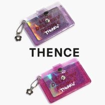 ★THENCE★BUTTON CARD WALLET 全2色【追跡送料込】
