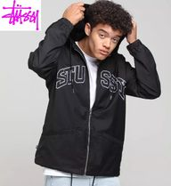 【STUSSY】クールな胸ロゴコーチジャケットSPORT HOODED COACHES