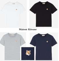 Maison Kitsune ladies - Fox T shirt - HEAD 4色展開