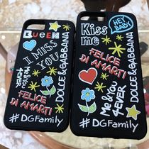 VIP SALE【Dolce&Gabbana】iPhone 7/8, 7/8 Plus Graffiti