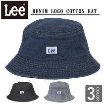 LEE(リー ) ハット 【即納】LEE リー デニム バケット ハット ロゴ BUCKET HAT