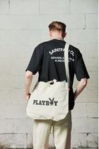 ★SAINTPAIN★PLAYBOY   LOGO CROSS 2WAY BAG 2色