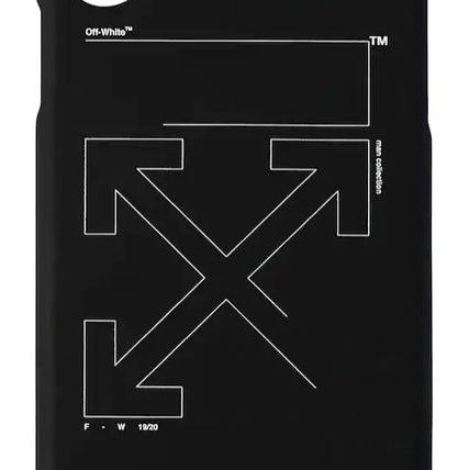 Off-White スマホケース・テックアクセサリー OFF WHITE☆UNFINISHED PRINT TECH IPHONE X COVER X用ケース(3)