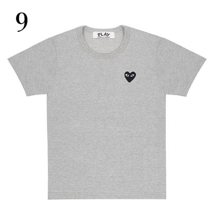 COMME des GARCONS Tシャツ・カットソー 1-3日着/追跡【即発】COMME des GARCONS ハートロゴ カットソー(10)