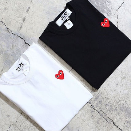 COMME des GARCONS Tシャツ・カットソー 1-3日着/追跡【即発】COMME des GARCONS ハートロゴ カットソー(17)
