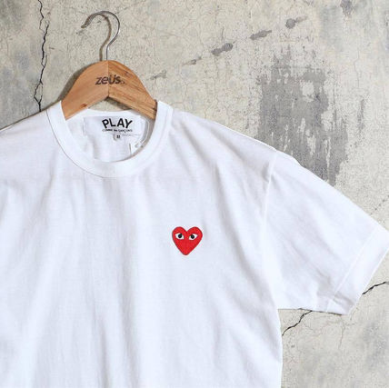 COMME des GARCONS Tシャツ・カットソー 1-3日着/追跡【即発】COMME des GARCONS ハートロゴ カットソー(16)