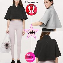 lululemon★Know Your Angles Poncho★クロップ丈ポンチョ★Cute
