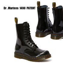 Dr Martens★1490 PATENT★パテントレザー★ジッパー