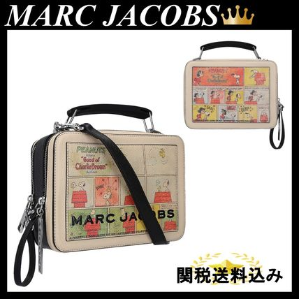 MARC JACOBS PEANUTS X MARC JACOBS THE BOX BAG