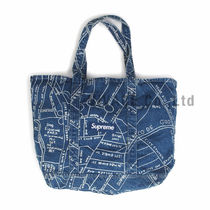 ★国内発送★ Supreme Gonz Map Denim Tote