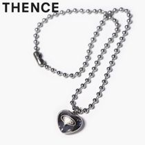 ★THENCE★BALL CHAIN NECKLACE《HEART》【追跡送料込】