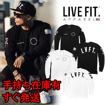 【送料無料】 LIVE FIT. Athlete Long Sleeve ロンT