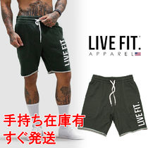 Live Fit(リブフィット) フィットネスボトムス 送料無料 Live Fit French Terry Live Fit short ショートパンツ