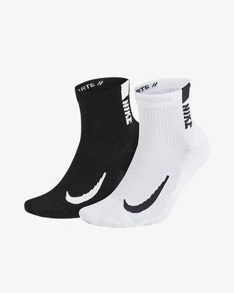 Nike 靴下・ソックス NIKE SX7556-906 2P MULTIPLIER ANKLE SOCKS MULTI