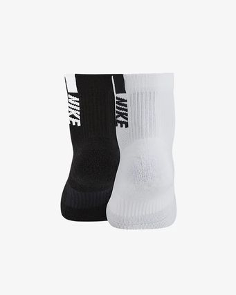 Nike 靴下・ソックス NIKE SX7556-906 2P MULTIPLIER ANKLE SOCKS MULTI(3)