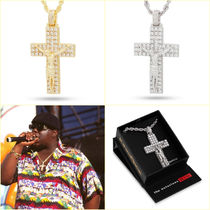 送料税込【Notorious B.I.G. x King Ice】Biggie Crucifix ネックレス
