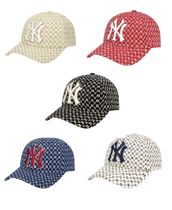 [MLB] NY Yankees Monogram curve 調節 cap *32CPFB911-50B*