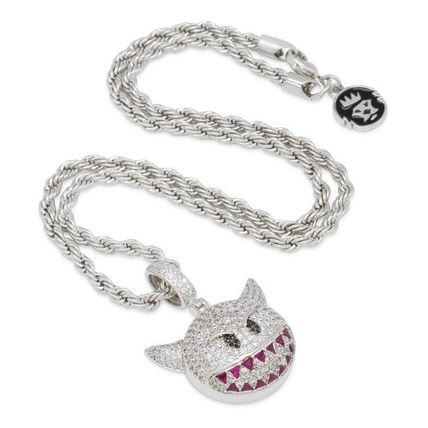 King Ice ネックレス・チョーカー 送料関税込【King Ice】Devil Emoji ネックレス☆国内発送(2色)(6)