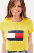 Tommy Hilfiger★Flag ビッグロゴ Tシャツ★イエロー