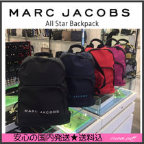 A4可【国内発送】MARC JACOBS All Star Backpack 軽量カジュアル