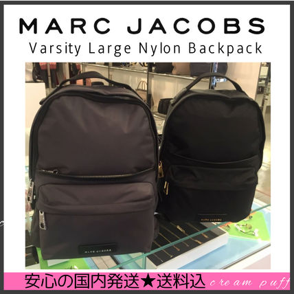 A4可【国内発送】MARC JACOBS Varsity Large Nylon Backpack 大