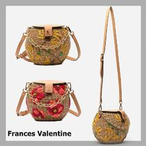 FRANCES VALENTINE☆Honeypot Basket Spring Flowers☆税・送込
