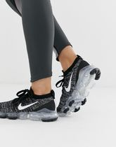 Nike Running ☆★Vapormax Flyknit Trainers In Black
