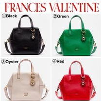【FRANCES VALENTINE】大人気☆Sabrina Satchel Tumbled Leather