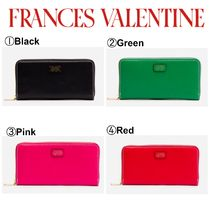 【FRANCES VALENTINE】☆大人気長財布☆Washington Zip Wallet