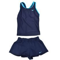 NIKE 1981806 10 GIRLS 2 IN 1 CULOTTE SEPARATES OBSIDIAN