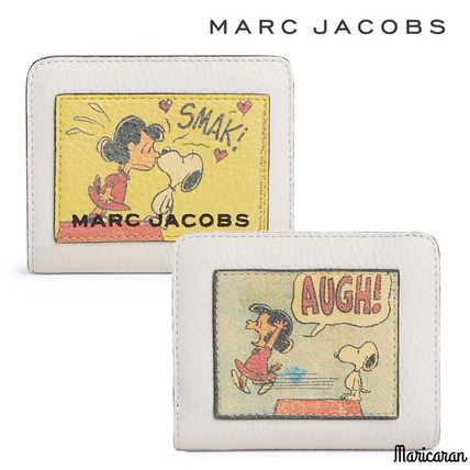 PEANUTS X MARC JACOBS THE BOX MINI COMPACT WALLET
