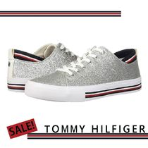 SALE★Tommy Hilfiger★Two キラキラシルバースニーカー