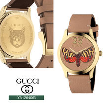GUCCI グッチ G-Timeless Butterfly g-タイムレス 38 mm