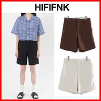 ☆韓国の人気☆【HI FI FNK】☆String Bone Shorts☆3色☆