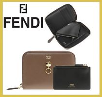 FENDI★coin case付き bi-color zip around wallet【謝恩品EMS】