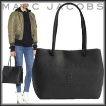 MARC JACOBS(マークジェイコブス) トートバッグ SAEL! MARC JACOBS ロゴ ショッパー トート レザー ミニサイズ♪