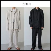 ☆COLN☆  セットアップ Context Linen Set Up 2色