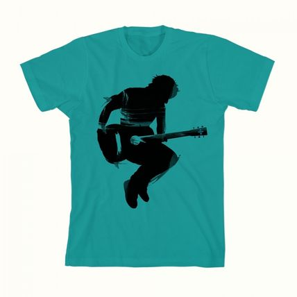 Ed Sheeran Tシャツ・カットソー Ed Sheeran ÷(Divided)<エド・シルエットTシャツ!緑!>