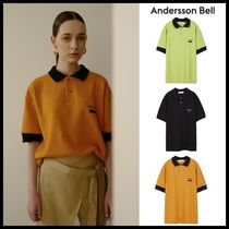 ☆ANDERSSON BELL☆  ANDERSSON SIGNATURE PIQUE T-SHIRT  3色