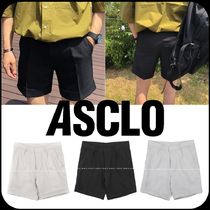 [ASCLO] ★韓国大好評★ PERFECT TURN UP SHORT SLACKS
