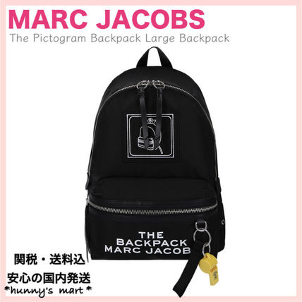 【MARC JACOBS】関送込 The Pictogram Backpack バックパック