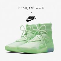 """FEAR OF GOD × NIKE AIR FEAR OF GOD 1 """"Frosted Spruce"""""""