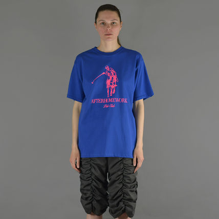 After Homework Tシャツ・カットソー AFTER HOMEWORK UNISEX POLO CLUB T-SHIRT BLUE(3)